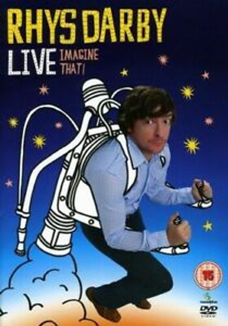 Rhys Darby Live - Imagine That - DVD *NEW*