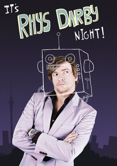 Rhys Darby - It's Rhys Darby Night! - DVD *NEW*