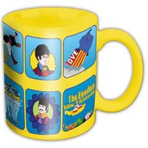 Beatles Boxed Standard Mug: Yellow Submarine Characters - MUG *NEW*