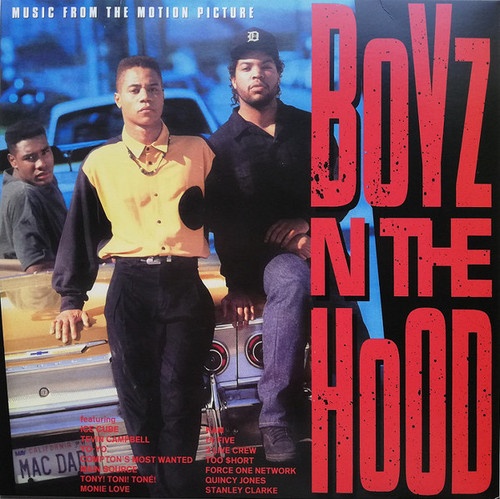 Boyz N The Hood (Music From The Motion Picture) - Soundtrack - 2lp *new*