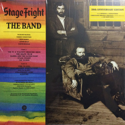 The Band – Stage Fright (50th Anniversary Edition) - LP *NEW*