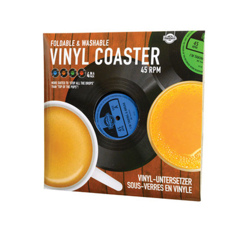 Vinyl Coaster Set of 4 *NEW*