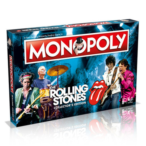 The Rolling Stones Monopoly *NEW*