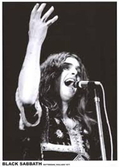 Black Sabbath - Rotterdam, Holland 1971 - POSTER #64 *NEW*