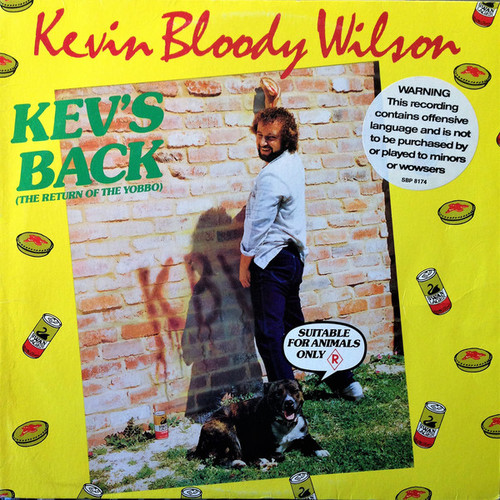 Kevin Bloody Wilson – Kev's Back (The Return Of The Yobbo) (AU) - LP *USED*
