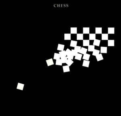 Benny Andersson, Tim Rice, Björn Ulvaeus ‎– Chess - Soundtrack - 2LP *USED*
