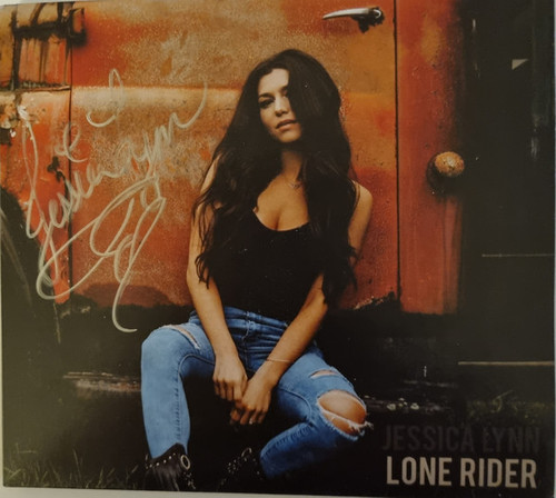 Jessica Lynn - Lone Rider (Signed) - CD  *NEW*