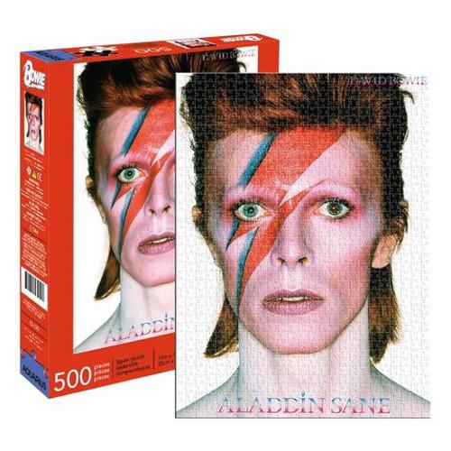David Bowie - Aladdin Sane - 500 Piece Jigsaw Puzzle