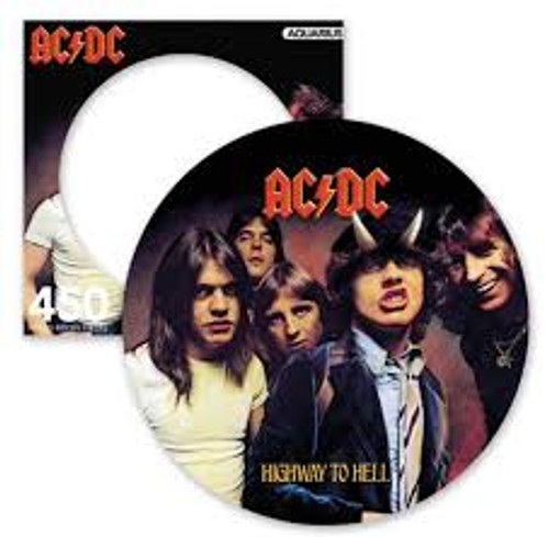 AC/DC Highway To Hell 450 Piece Picture Disc Jigsaw Puzzle *NEW*