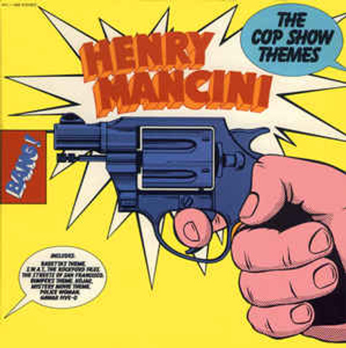 Henry Mancini ‎– The Cop Show Themes - Soundtrack - LP *USED*