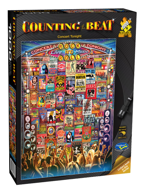 Counting The Beat (Concert Tonight) - 1000 Piece Puzzle  -*NEW*