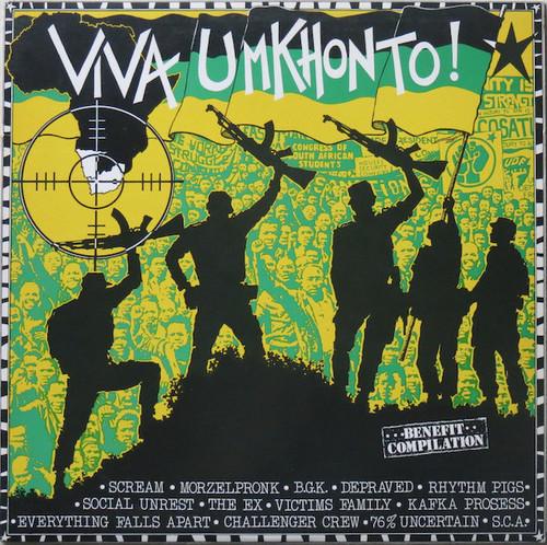 Viva Umkhonto! - Various (NETHERLANDS) - LP *USED*