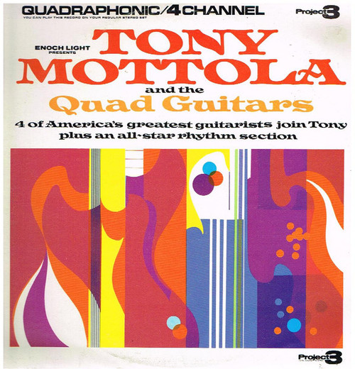 Tony Mottola And The Quad Guitars – Tony Mottola And The Quadraphonic Guitars (AU) - LP *USED*