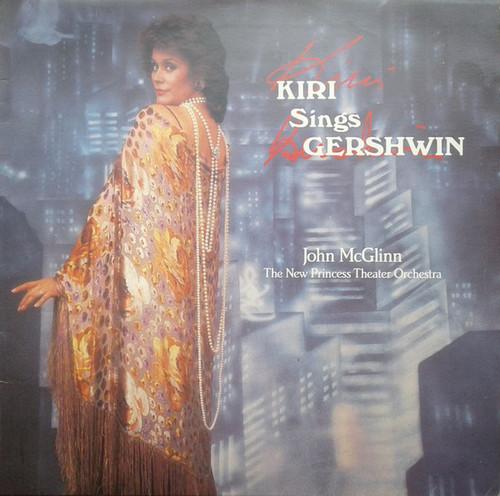 Kiri Te Kanawa - John McGlinn, The New Princess Theater Orchestra* – Kiri Sings Gershwin (NZ) - LP *USED*