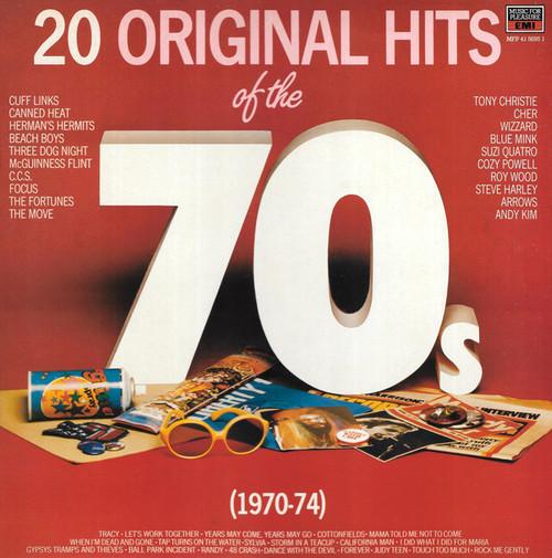 20 Original Hits Of The 70's - Various (UK) - LP *USED*