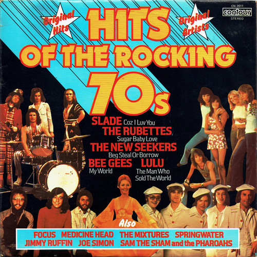 Hits Of The Rocking 70s - Various (UK) - LP *USED*