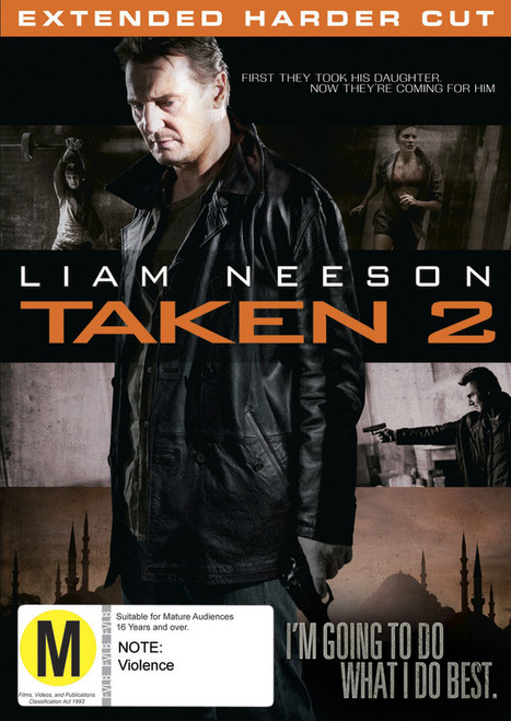 Taken 2 - DVD *NEW*