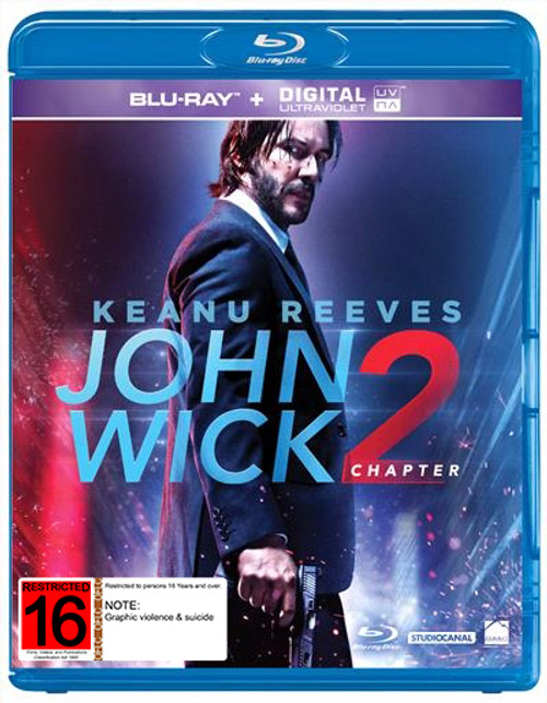 John Wick: Chapter 2 - BRD *NEW*