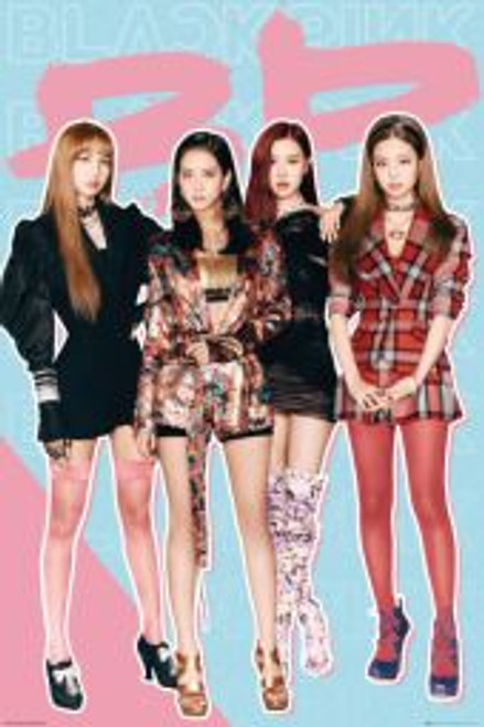 Black Pink Girls - POSTER # *NEW*