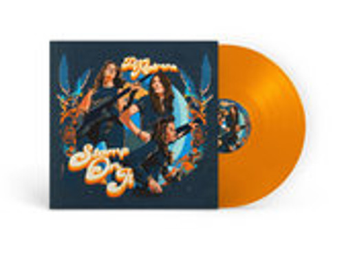 Dea Matrona - Stamp On It (Orange Vinyl) SIGNED - LP *NEW* (PREORDER)