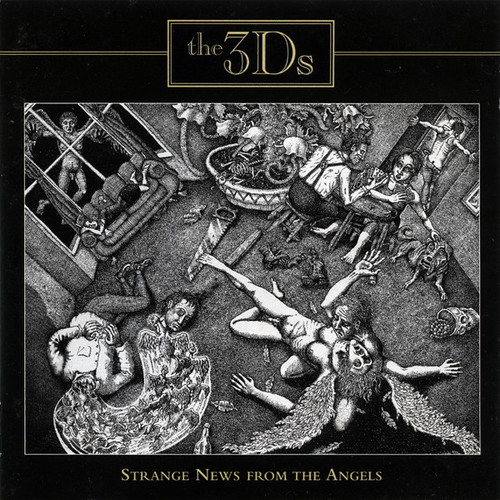 3Ds – Strange News From The Angels - CD *NEW*