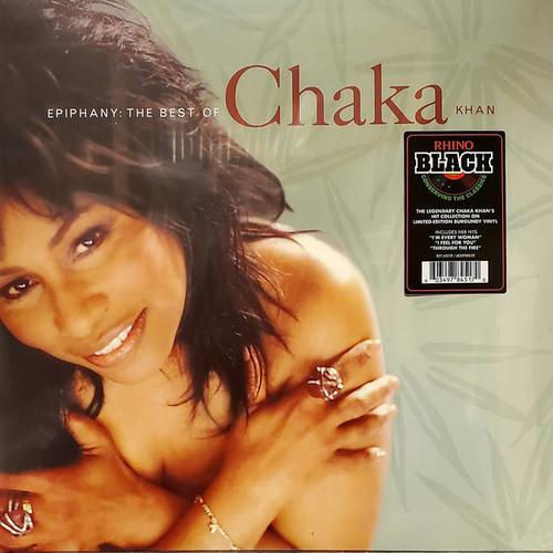 Chaka Khan – Epiphany: The Best Of Chaka Khan (Burgundy Vinyl) - LP *NEW*