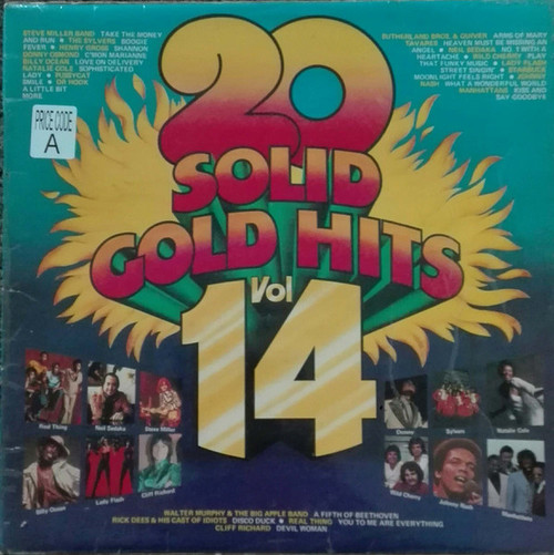 20 Solid Gold Hits Vol. 14 - Various (NZ) - LP *USED*
