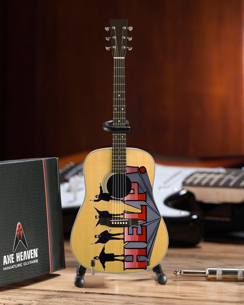 Axe Heaven: Fab Four Help! Tribute Acoustic Guitar (Radio Days) - *NEW*