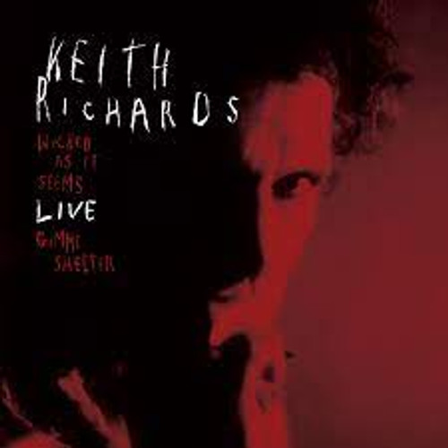 """Keith Richards - Wicked As It Seems Live - 7"""" *NEW* RSD  2021"""