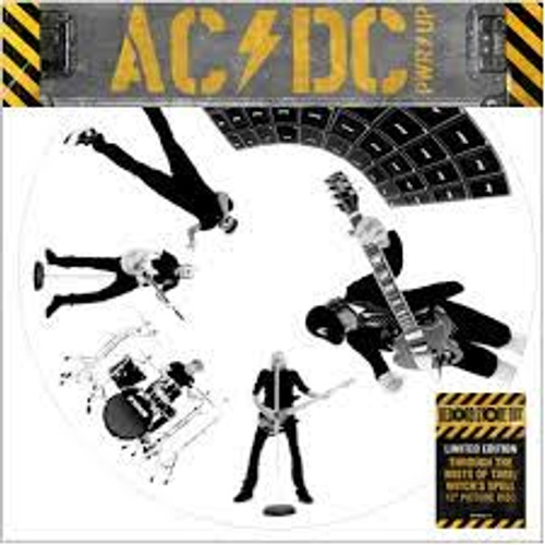"""AC/DC - """"Through The Mists of Time"""" / """"Witch's Spell"""" (Pic Disc) - 12"""" *NEW* RSD 2021"""