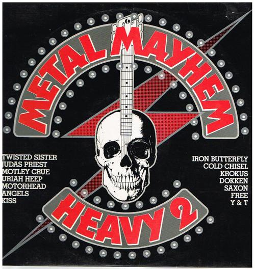 Metal Mayhem - Heavy 2 - Various (NZ) - LP *USED*