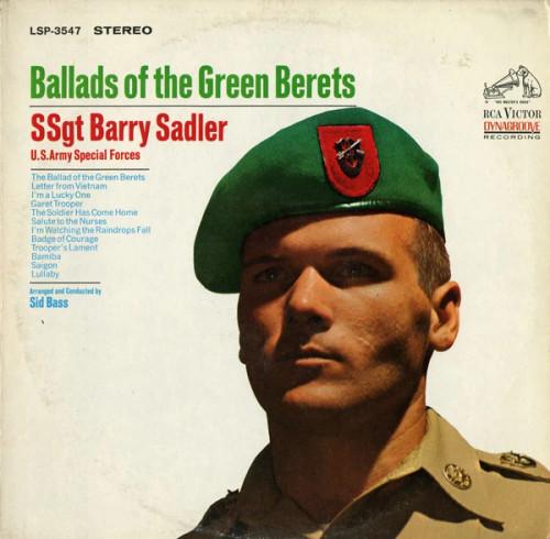SSgt. Barry Sadler* – Ballads Of The Green Berets (US) - LP *USED*