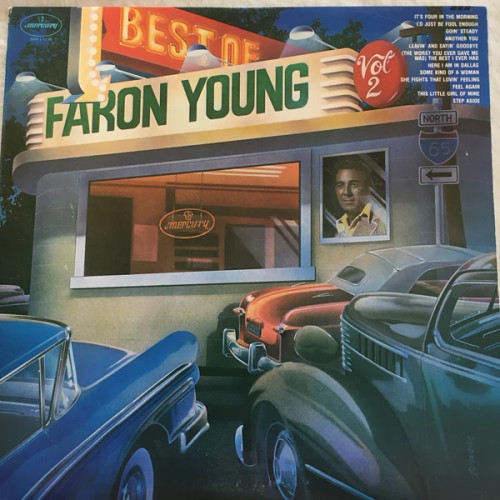 Faron Young – The Best Of Faron Young Vol. 2 (US) - LP *USED*
