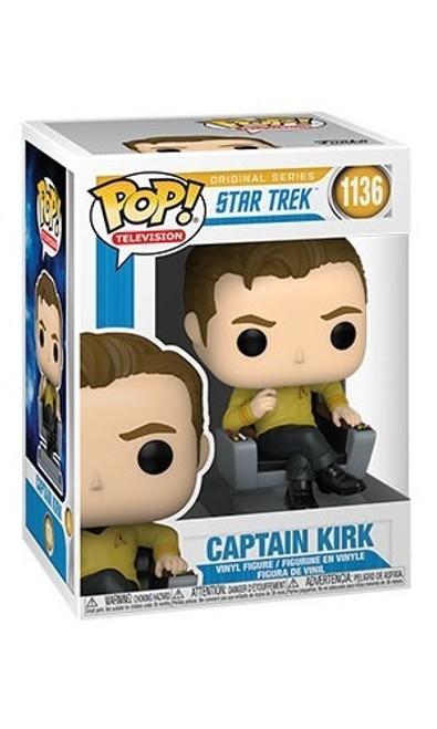 Captain Kirk in Chair - Pop! Vinyl Figure #1136 *NEW*