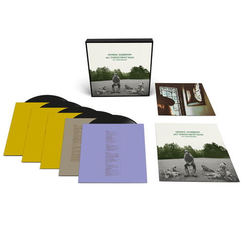 George Harrison - All Things Must Pass (50th Anniversary Deluxe Vinyl Edition) - 5LP *NEW*