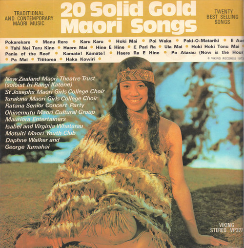 20 Solid Gold Maori Songs - Various (NZ) - LP *USED*
