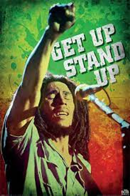 Bob Marley - Get Up Stand Up - POSTER
