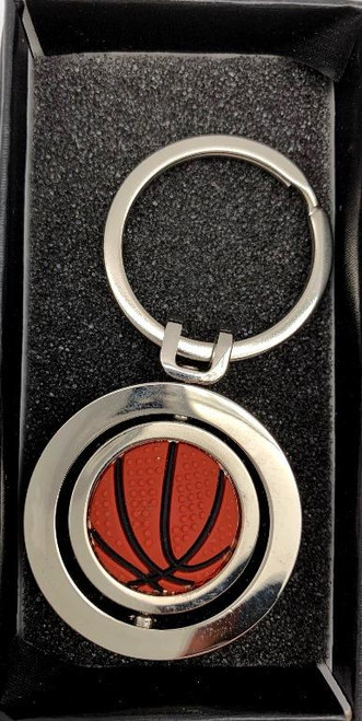 Gifts - Keyring Basketball in black gift box *NEW*