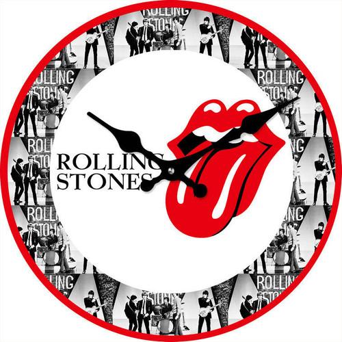 Clock - Rolling Stones 17cm *NEW*