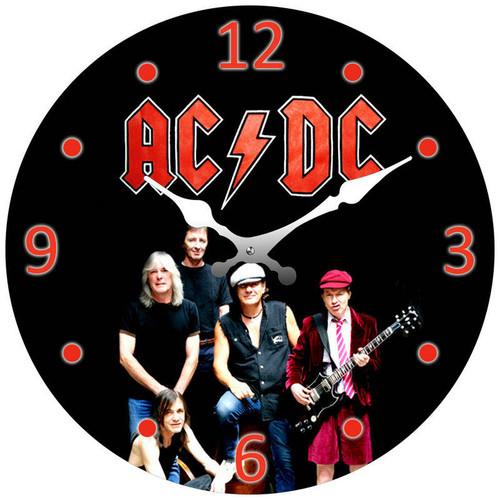 Clock - ACDC 17cm Round *NEW*