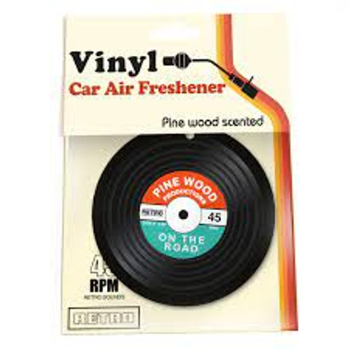 Vinyl Car Air Freshener - *NEW*