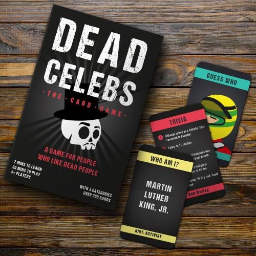 Dead Celeb Card Game - *NEW*