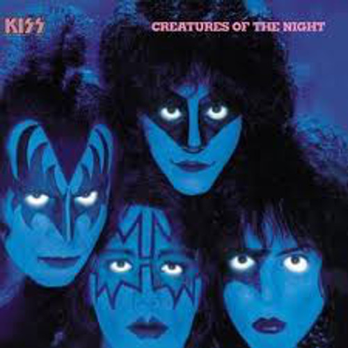 Kiss – Creatures Of The Night (AU) - LP *USED*