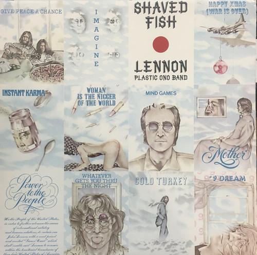 Lennon* / Plastic Ono Band* – Shaved Fish (AU) - LP *USED*