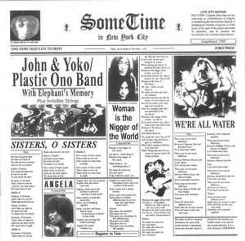 John & Yoko* / Plastic Ono Band* With Elephant's Memory* And Invisible Strings – Some Time In New York City (AU) - 2LP *USED*