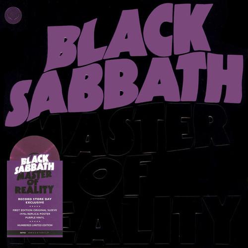 Black Sabbath – Master Of Reality (Purple vinyl) - LP *NEW* RSD 2021