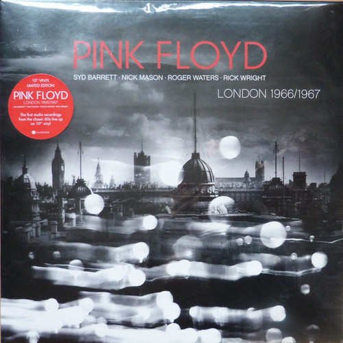 "Pink Floyd – London 1966/1967  Reissue - 10"" *NEW*"