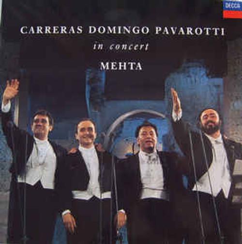 Carreras*, Domingo*, Pavarotti*, Mehta* – In Concert - LP *USED*