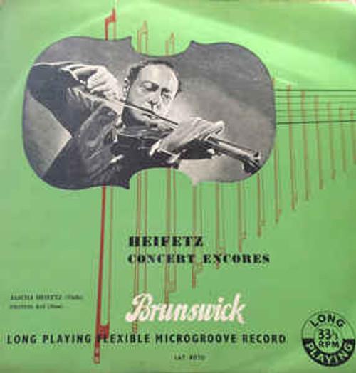 Heifetz* – Heifetz Concert Encores - LP *USED*