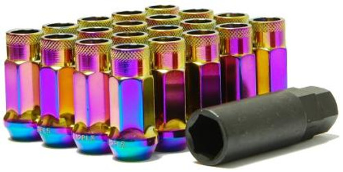 NEO Chrome lug nuts 12x1.50 48mm